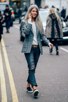London's Calling with a 2015 Redefined Office Casual Streetstyled Vibe... Gottaluvit!