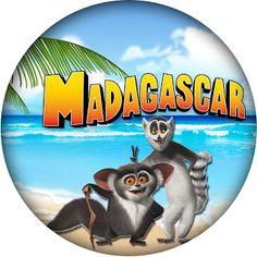 Artes da Colaboradora Aline - Mini Kit Madagascar!!