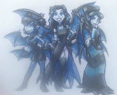 The Dark Faerie Sisters