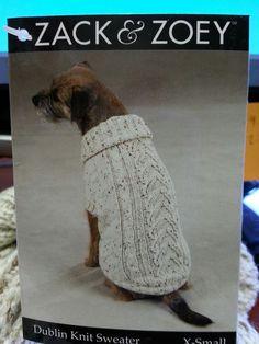 Dublin Knit Dog Sweaterby Zack & Zoey