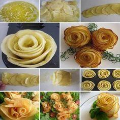 Różyczki z ziemniaków