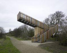 Robbrecht en Daem architecten_birdwatch tower, Lincolnshire