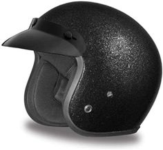 Cruiser lightweight black metal flake motorcycle helmet with retro styling & DOT Approved Daytona Helmets from Leather Bound. Cruiser Motorcycle Helmet, Open Face Motorcycle Helmets, Motorcycle Gloves, Mens Riding Boots, Cowboy Boots Women, Waterproof Motorcycle Boots, Helmet Brands, Retro Helmet