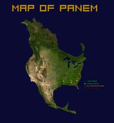 47 Best Maps of Panem - The Hunger Games images in 2015 ...