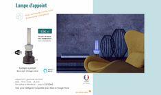 Lampe UV-C germicide de 36W Base : 9cm | Tube : 18,2cm Pour pièce à désinfecter : jusqu'à 25/30m2 Avec prise Intelligente Compatible avec Alexa et Google Home Lampe Uv, Style Vintage, Innovation, Google, Technology, Products