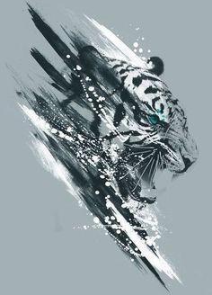 Идея для тату с тигром