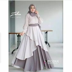 Party Gamis Models For Fat Women Abaya Fashion, Modest Fashion, Fashion Dresses, Trendy Dresses, Modest Dresses, Casual Dresses, Muslim Long Dress, Dress Long, Hijab Style Dress