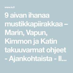 9 aivan ihanaa mustikkapiirakkaa – Marin, Vapun, Kimmon ja Katin takuuvarmat ohjeet - Ajankohtaista - Ilta-Sanomat Arctic