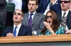 Kate Middleton, Duchess of Cambridge at Wimbledon (July 6, 2014).