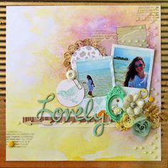 BC   Scrapbook Layout - Lovely