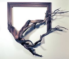 Darryl Cox Jr. uses woodworking, painting, and sculpture to create commissioned frames.