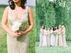 bridesmaid bouquet - photo by Rachel Rowland http://ruffledblog.com/chic-bohemian-wedding-at-rustic-acres-farm