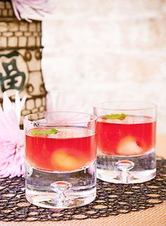 Eurasian Martini ~ a harmonious blend of unsuspecting ingredients from disparate origins