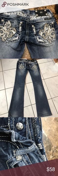 Miss me 25 Cute blingy miss me 25/30 Miss Me Jeans Boot Cut