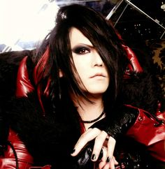 Masashi, basslplayer of japanese visual kei band Jupiter