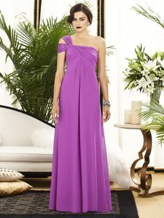 Dessy Collection Style 2881    #purple #bridesmaiddress