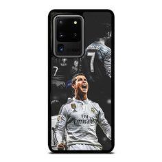 CRISTIANO RONALDO REAL MADRID Samsung Galaxy S20 Ultra Case Cover - Black / Plastic