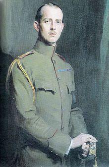 Portrait du prince André par Philip Alexius de Laszlo, 1913.