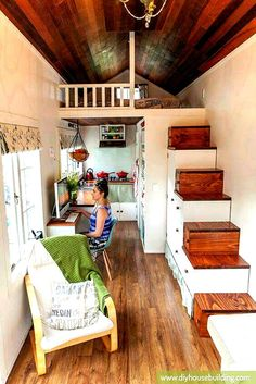 A Look At Shaye And Tom Their Newborn Tiny House On Wheels After One Year Living In It Also Plans Are Now Available