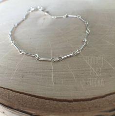 Key to Simplicity Bracelet by honeysheaSTUDIOS on Etsy