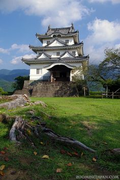 Uwajima Castle in Ehime Prefecture (one of the 12 original castle structures in Japan).
