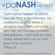 paNASH passion & career coaching helps those of you who feel stuck in your career get unstuck and put your passion and purpose into action! Career Coach, Feeling Stuck, My Land, Career Advice, New Job, Help Me, Coaching, Confidence, Interview