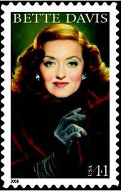 betty+davis+stamp | New Bette Davis Stamp announced for 2008 - Stamp Community Forum