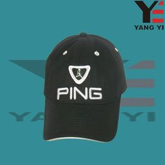 Embroidered golf cap, cotton material, wide visor to ressist the strong sunshine. #golfcap #sportscap #mencap #capfashion