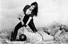 Tura Satana, Faster, Pussycat! Kill! Kill! | A cuckoo-bananas action movie about homicidal go-go dancers, much of the appeal of Pussycat is derived from Satana's oddly endearing miles-over-the-top performance. You get the