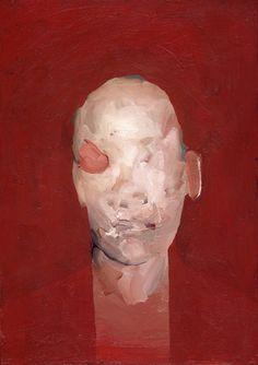 Nicola Samori Interés por la tecnica. El aspecto formal de la pintura. Los diferentes modos de pintar las pieles