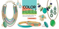Freshen up your summer wardrobe instantly with a little color!!  www.stelladot.com/BarbaraEllis