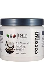 Eden BodyWorks Coconut Shea Pudding Souffle - NaturallyCurly