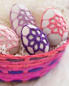 Celtic Knot Crochet: Easter Egg Cozies