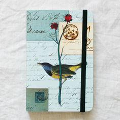 CAVALLINI ジャーナル S(バード)    #bird #notebook #torimizuki Stationery, Bird, Animals, Stationeries, Animales, Stationery Shop, Paper Mill, Animaux, Office Supplies