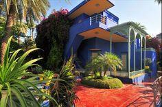 Jardin Majorelle. Res med oss till exotiska och färgstarka Marrakech!