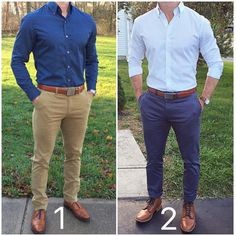 Two smart casual looks from /chrismehan/ 1 or Pages to upgrade your style /stylishmanmag/ Smart Casual Men Work, Smart Casual Menswear Summer, Men Casual, Mens Smart Casual Fashion, Stylish Menswear, Casual Styles, Classy Fashion, Fashion Vintage, Casual Pants