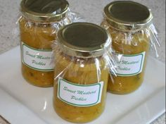 Thermomix Recipe Sweet Mustard Pickles by Wise Woman Ways - Recipe of category Sauces, dips & spreads Sweet Mustard Pickles Recipe, Un Diner Presque Parfait, Sauce Dips, Cheddarwurst Recipe, Mulberry Recipes, Radish Recipes, Cantaloupe Recipes, Spagetti Recipe, Sauces