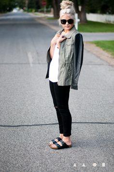 10 Chic Ways to Style Birkenstocks #shoes #birkenstocks #fashion