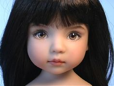 """Isabelle"" TheDollStudio.Com - Dianna Effner.  I love the candor of this face."