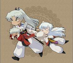 Inuyasha Funny, Inuyasha And Sesshomaru, Inuyasha Fan Art, Kagome And Inuyasha, Manga Anime, Anime Amor, Otaku Anime, Castlevania Anime, Seshomaru Y Rin