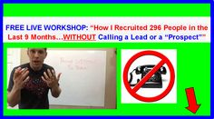 https://www.facebook.com/SuzanneSobersOnline/posts/1484973415070207 FREE LIVE WORKSHOP: 9.00pm EST Wednesday (Tonight) -  Recruit People into your Business WITHOUT calling them on the Phone.... CLICK THE LINK BELOW TO RESERVE YOUR SEAT  NOW http://recruitwithoutthephone.suzannesobersevent.com/