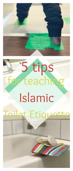 Islamic toilet etiquette, Toilet manners, for Muslim kids and parents