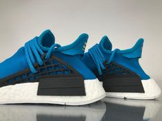 "1961a21d49655 Adidas NMD Human Race Pharrell Williams ""Blue"" Real Boost BB0618 for  Sale 06 Pharrell Williams"