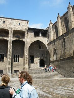 King Ferdinand and Queen Isabella's courtyard