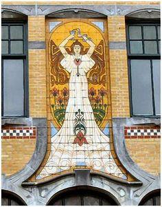 Voorstreek 58 - Architect G.B. Broekema. 1905, Leeuwarden, Nederland