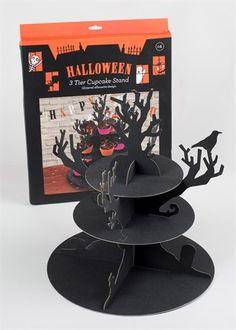 Halloween 3 Tier Cupcake Stand