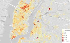 Mapping 3 years of #NYC film permits. #TimesSquare and Wall Street among the most popular areas @thisiscitylab