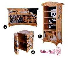 Best Kids Pirate Bedroom Ideas Images On Pinterest Child Room - Kids pirate bedroom furniture
