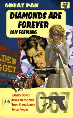 Diamonds Are Forever by Ian Fleming - A fan made 007 cover