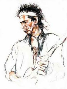 Ronnie Wood - incredible art, excellent service - call us at The Rolling Stones, Rolling Stones Album Covers, Music Painting, Painting On Wood, Painting & Drawing, Wood Paintings, Ghibli, Ronnie Wood Art, Rock And Roll